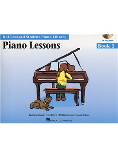 Hal Leonard Student Piano Library: Piano Lessons Book 1 (Book/CD) Books and Digital Audio | Piano