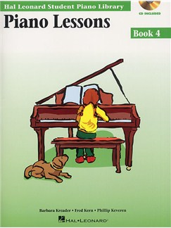 Hal Leonard Student Piano Library: Piano Lessons Book 4 (Book/CD) Books and CDs | Piano