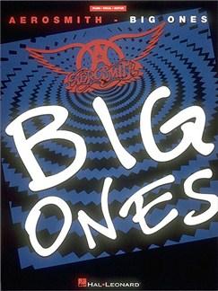 Aerosmith - Big Ones* Books   Piano, Vocal & Guitar