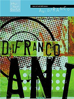 Best Of Ani Difranco Books | Piano, Voice & Guitar With Chord Boxes