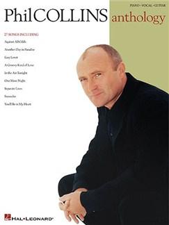Phil Collins Anthology Libro | Piano, Voz y Guitarra