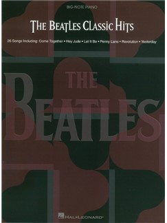 The Beatles Classic Hits Books | Piano (Big Notes)