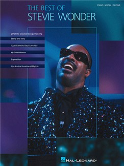 Stevie Wonder: The Best Of Books   Piano, Vocal & Guitar