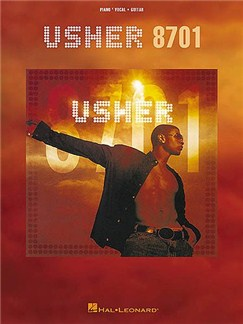 Usher: 8701 Books | Piano and Voice, with Guitar chord boxes