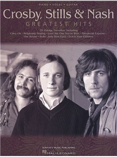 Crosby, Stills & Nash - Greatest Hits (PVG) Books | Piano, Vocal & Guitar