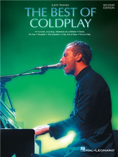 The Best Of Coldplay: Second Edition (Easy Piano) Books | Easy Piano, Lyrics & Chords