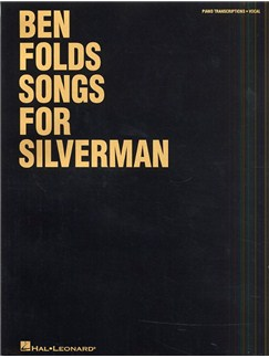 Ben Folds: Songs For Silverman Books | Piano, Vocal & Guitar (with Chord Boxes)