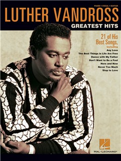 Luther Vandross: Greatest Hits Books | Piano, Vocal & Guitar