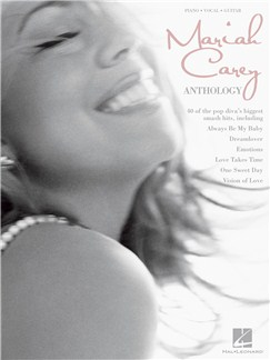 Mariah Carey: Anthology (PVG) Livre | Piano, Chant et Guitare