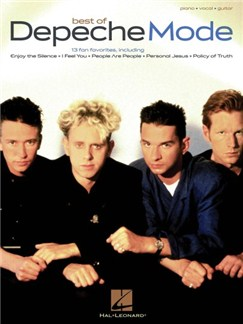 Depeche Mode: Best Of Books | Piano, Vocal & Guitar