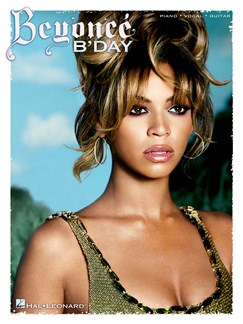 Beyonce: B'Day Books | Piano, Vocal & Guitar (with Chord Boxes)