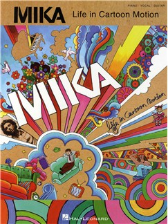 Mika: Life In Cartoon Motion Books | Piano, Vocal & Guitar