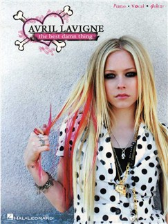 Avril Lavigne: The Best Damn Thing Books | Piano, Vocal & Guitar
