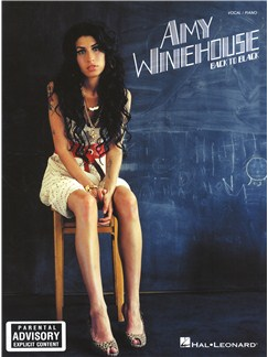 Amy Winehouse: Back to Black Livre | Piano et Chant