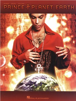 Prince: Planet Earth Books | Piano, Vocal & Guitar