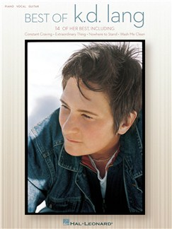 Best of K.D. Lang Books | Piano, Vocal & Guitar
