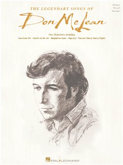The Legendary Songs Of Don McLean Books | Piano, Vocal & Guitar