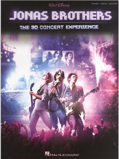 Jonas Brothers: The 3D Concert Experience Books | Piano, Vocal & Guitar