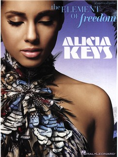 Alicia Keys: The Element Of Freedom Books | Piano, Vocal & Guitar