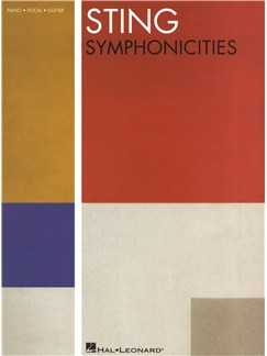 Sting: Symphonicities Books | Piano, Vocal & Guitar