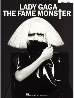Lady Gaga: The Fame Monster - Easy Piano Books | Piano
