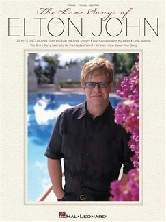 The Love Songs of Elton John (PVG) Books | Piano, Vocal & Guitar
