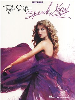 Taylor Swift: Speak Now - Easy Piano Books | Piano