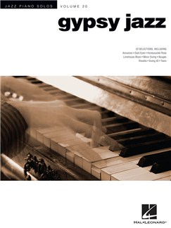 Jazz Piano Solos Volume 20: Gypsy Jazz Books | Piano