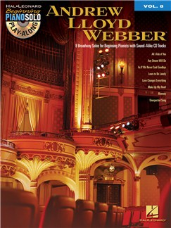 Beginning Piano Solo Play-Along Volume 8: Andrew Lloyd Webber Books and CDs | Piano