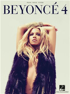 Beyonce: 4 Books | Piano, Vocal & Guitar