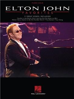 Elton John: Favorites Books | Piano