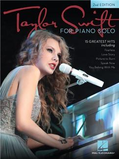 Taylor Swift For Piano Solo (Second Edition) Books | Piano