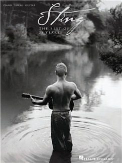 Sting: The Best Of 25 Years Books | Piano, Vocal & Guitar