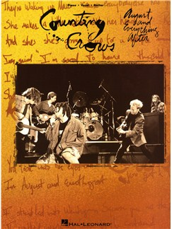 Counting Crows: August And Everything After Books | Piano, Vocal & Guitar