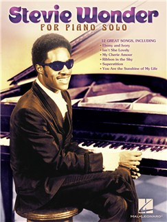 Stevie Wonder: Piano Solo Books | Piano