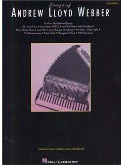 Songs Of Andrew Lloyd Webber (Accordion) Books | Accordion