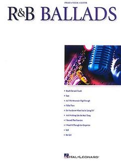 R&B Ballads Books | Piano, Vocal & Guitar