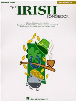 The Irish Songbook - Second Edition (Big Note Piano) Books | Piano