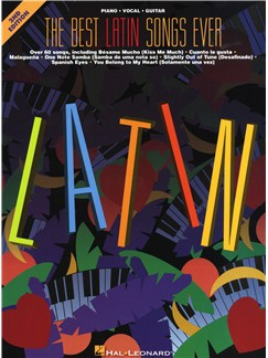 The Best Latin Songs Ever - 2nd Edition Books | Piano, Vocal & Guitar