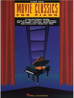 Movie Classics For Piano Books | Piano