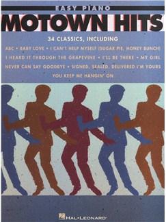 Motown Hits - Easy Piano Books | Piano