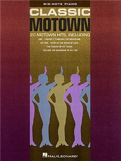 Classic Motown - Big-Note Piano Books | Piano