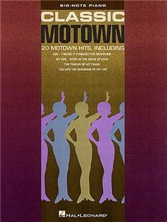 Classic Motown - Big-Note Piano Libro | Piano, Piano, Voz y Guitarra