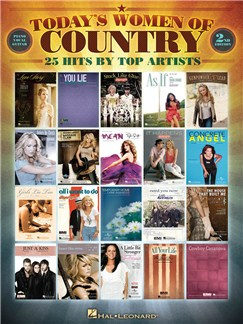 Today's Women Of Country - 2nd Edition Books | Piano, Vocal & Guitar