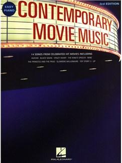 Contemporary Movie Music - 3rd Edition Books | Piano, Easy Piano