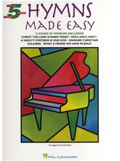 5 Finger Piano Book: Hymns Made Easy Books | Piano
