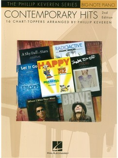 Contemporary Hits: 2nd Edition -  Phillip Keveren Series Books   Piano (Big Notes)
