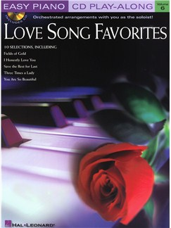 Easy Piano CD Play-Along Volume 6: Love Song Favourites Books and CDs | Piano