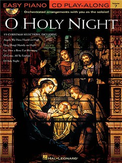 Easy Piano CD Play-Along Volume 7: O Holy Night Books and CDs | Piano, Voice