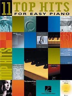 11 Top Hits For Easy Piano Books | Piano